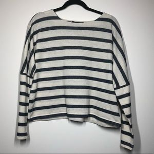 Banana Republic Long Sleeve Striped Sweater